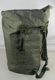 Duffle Bag dufflebag Plunjezak en rugzak Nylon US Army   - origineel
