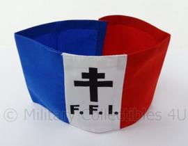 Armband FFI Frans verzet Forces françaises de l'intérieur Frans binnenlands leger