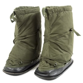 Britse leger en Korps Mariniers Overboot Thermal winter overschoenen - maat Medium of Large - ongebruikt origineel