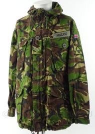 Britse leger Woodland DPM camo smock Combat Windproof met insignes Engineer regiment - maat 170/104 - origineel