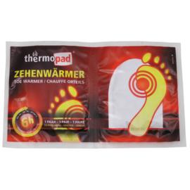 Voetwarmer Thermopad eenmalig gebruik ca 6 uur warmte
