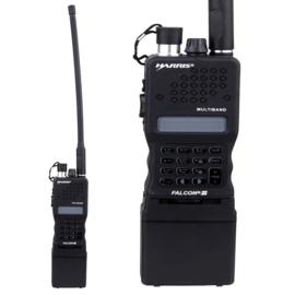 HARRIS PRC-152 DUMMY radio met ontkoppelbare antenne - Zwart