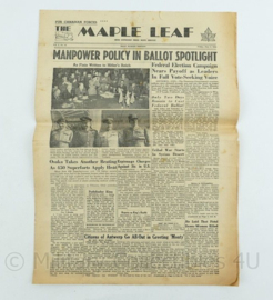 Krant Maple Leaf - 8 June 1945 -  origineel