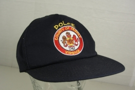 County of Fairfax Virginia Police Baseball cap - Art. 513 - origineel