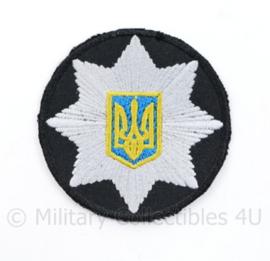 Oekraïense politie embleem - diameter 6 cm  - origineel