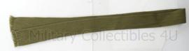 KL Nederlandse leger antieke stropdas groen - origineel