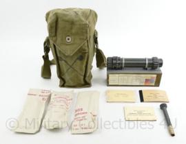 ABL Belgisch leger gasdetectie kit 1962 - zeer uitgebreid -  origineel