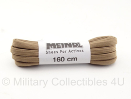 KL Nederlandse leger Meindl veters khaki - 160 cm - origineel