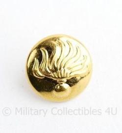 Korps Rijkspolitie te water knoop goud 15 MM -  origineel
