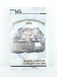 KCT Korps Commando Troepen videoband Commando reünie 2002 - 60 jarig jubileum - origineel