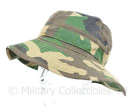 Zeldzame Korps Mariniers Boonie Jungle hat - maker Hassing BV - maat 59 - licht gedragen - origineel