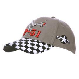 Baseball cap - P-51 MUSTANG
