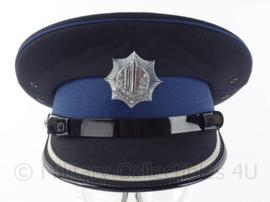 Nederlandse Gemeentepolitie platte pet inspecteur - maat 55 - origineel