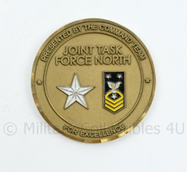 Coin US Army Join Task Force North USNORTHCOM for Excellence - diameter 5 cm - origineel