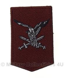 KL Nederlandse leger Luchtmobiele brigade embleem - voor DT uniform - origineel