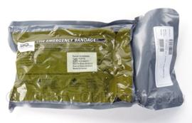 """The Emergency Bandage wondverband Multi Bandage 4"""" Abdominal/Large Wound Amputation Dressing  - made in Israel - tht 5-2023 - origineel"""