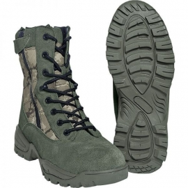Tactical boot - Double Zip - ACU camo