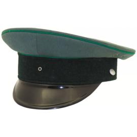 Leger pet zonder insigne - bruikbaar als WO2 Duits Gebirgsjäger 54 of 56 cm. hoofdomtrek - origineel