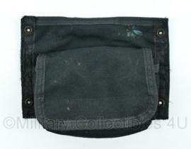 KCT Korps Commando Troepen en Politie Tactical OPS vest tas met klittenband zwart - 21 x 14,5 x 4 cm - origineel