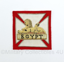 British Army Egypt patch officer style - origineel