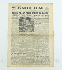 Krant Maple Leaf - 22 June 1945 -  origineel