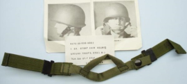 US Army M1 helmet  kinriem  Chin Strap Helmet Ground Troop Steel M1 - nieuw in verpakking -  origineel