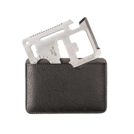 RVS Survival tool multitool met hoes - creditcard formaat