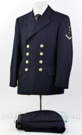 Koninklijke Marine  daagsblauwe machting uniform set 1988 - maat 48K - matroos der 1e klasse - maat 48 - origineel
