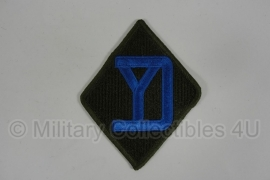 WWII US 26th Infantry Division patch - eigen aanmaak
