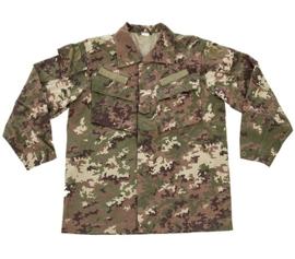Italiaanse leger combat jacket vegetato camo - nieuwstaat - maat 48 of 50 - origineel