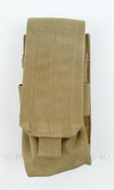 Defensie en Korps Mariniers en US Army Coyote Molle pouch single magazin M4 Diemaco - nieuw - 14,5 x 8 x 3 cm - origineel
