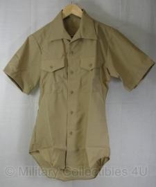 US Army overhemd Shirt Man's khaki shade NIEUW in verpakking! - korte mouw maat 39 - origineel