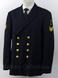 Koninklijke Marine jas - maat 56 uit 1990 - rang Sergeant - origineel