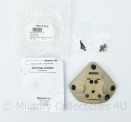 US Army en Defensie Universal Norotos Universal Shroud for  Helmet voor op de voorkant vd helm voor de nachtkijker - nieuw - 14 x 10 cm - origineel