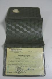 DDR Volkspolizei Dienst Berechtigung Fahren - origineel