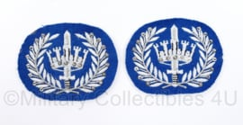 Gemeentepolitie Brigadier mouw rangen Brigadier, per paar  - 6 x 7,5 cm - origineel