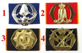 KL Nederlandse leger baret insignes - origineel