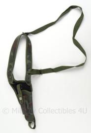 KLU Luchtmacht piloten schouderholster - camo - 51 x 10 x 3cm - gebruikt - origineel