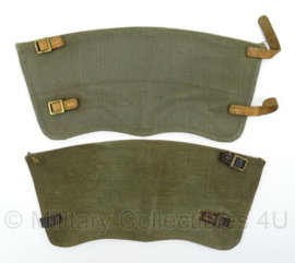 Nederlandse leger MVO been gaiters  - l mismatch - afmeting 35 x 16 cm - origineel