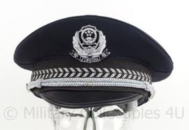 China Police cap - Jing Cha police -  maat 58 - origineel