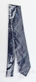 Stropdas Gemeentepolitie - donkerblauw met licht blauwe strepen - nieuw in de verpakking - origineel