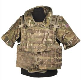 Brits Modulair gevechtsvest Osprey MKIVA- Molle - zonder tassen - MTP camo - origineel