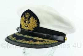 Koninklijke Marine Admiraals pet uit 1971  Maat 56 - Origineel