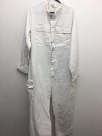 Britse leger en KM Koninklijke Marine overall Coverall Men's General Service White Cotton - ongebruikt - maat 190/100 - origineel