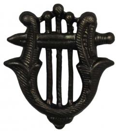 Metalen muziekkorps uniform speld - per set - origineel