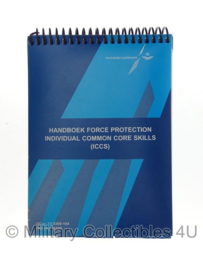 KLU Luchtmacht handboek - Handbook Force Protection ICCS OCnr. 13-5300-104- origineel