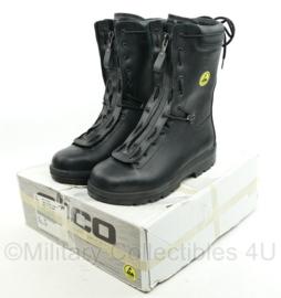 Defensie laars veiligheidsmodel 17 - merk Alico veiligheidslaars  S3 ESD - nieuw in de doos -  maat 45 - origineel