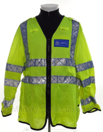 Metropolitan Police geel reflectie dunne overjas - Community Support Officer - size 100 reg - origineel