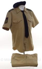 Korps Mariniers kleding set - jas, broek en baret - maat 16 ML - origineel