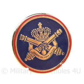 ABL Belgische leger Artillerie kraaginsigne - diameter 3 cm - origineel